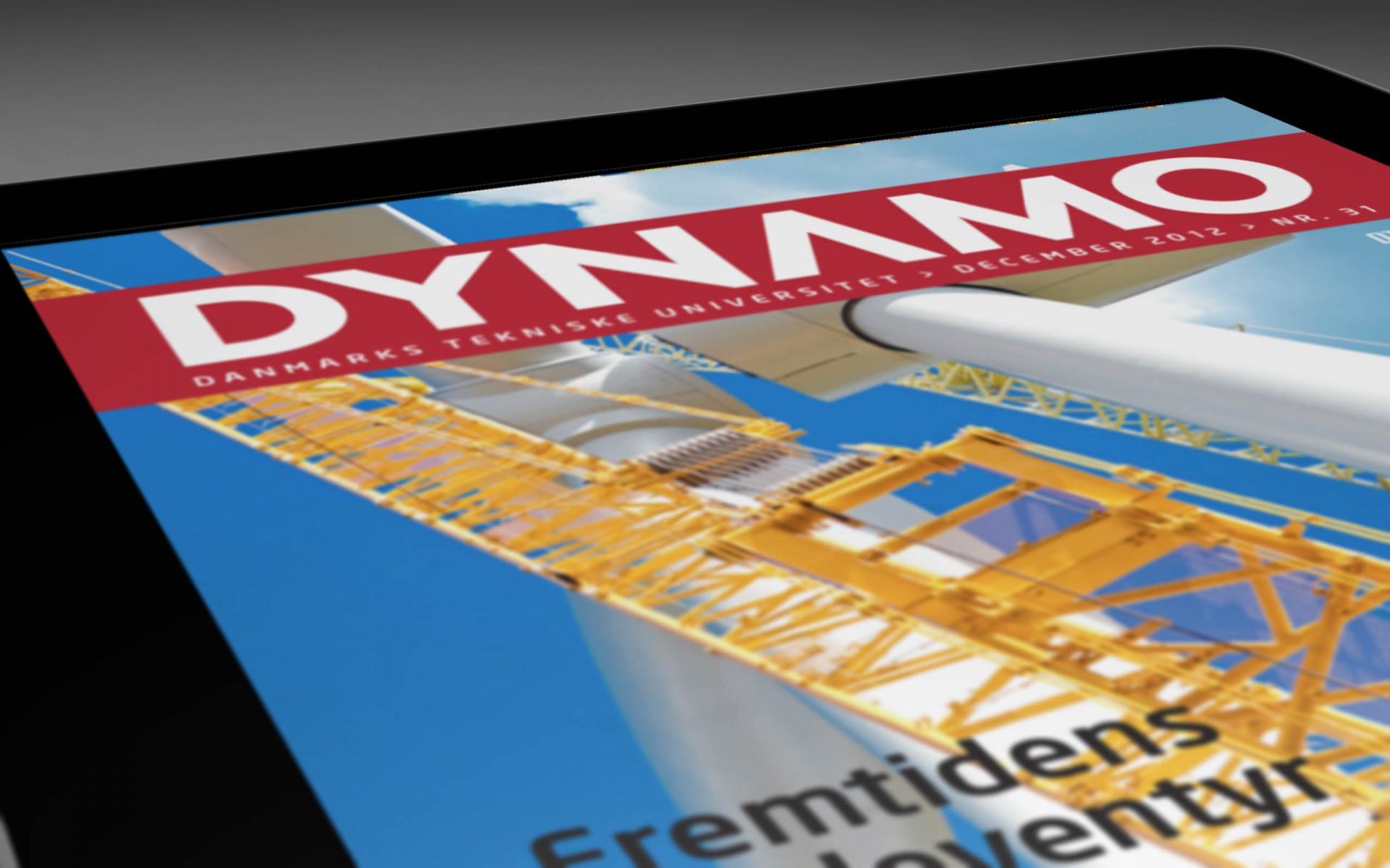 iPad magazine Dynamo